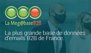 La plus grande base de données d'emails B2B de France.