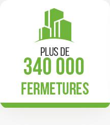 Plus de 340 000 fermetures